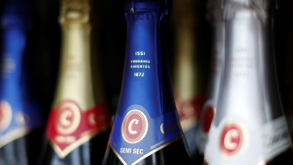 Foto: Botellas de Codorniu. (Reuters)