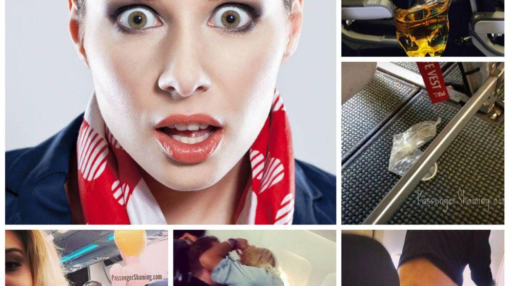 Las cosas que pasan en los aviones: tenemos los documentos gráficos