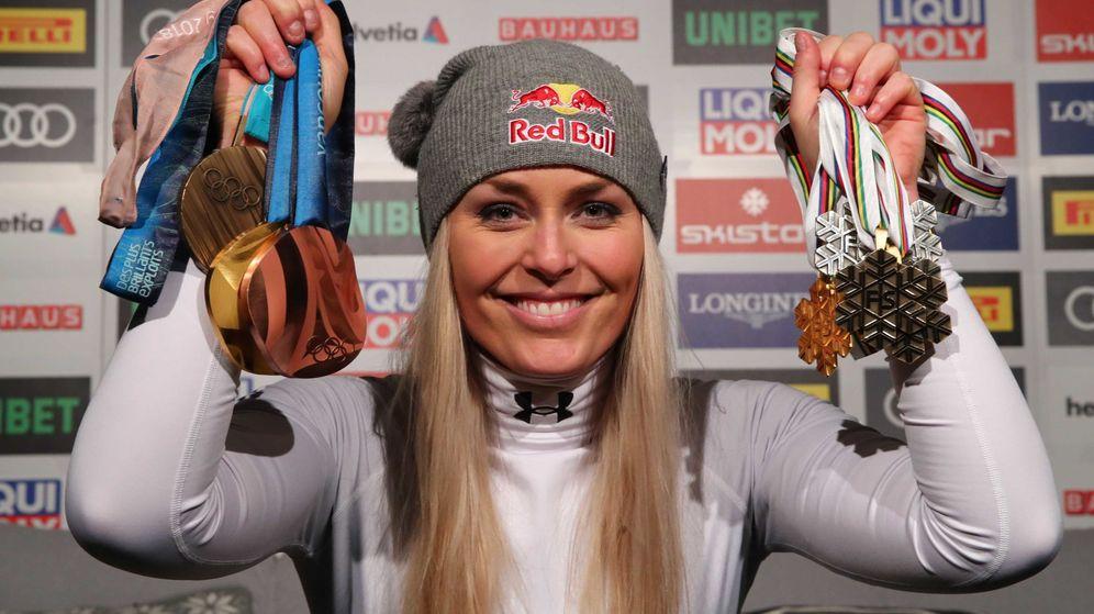 Foto: La esquiadora Lindsey Vonn. (EFE)