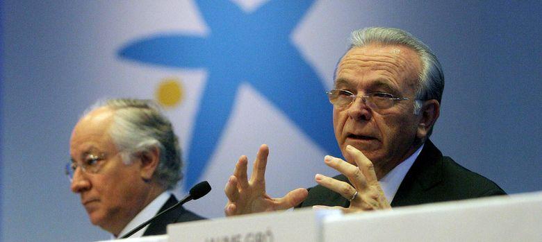 Foto: El presidente de CaixaBank, Isidre Fainé (d), y el consejero delegado, Juan M. Nin (Efe)