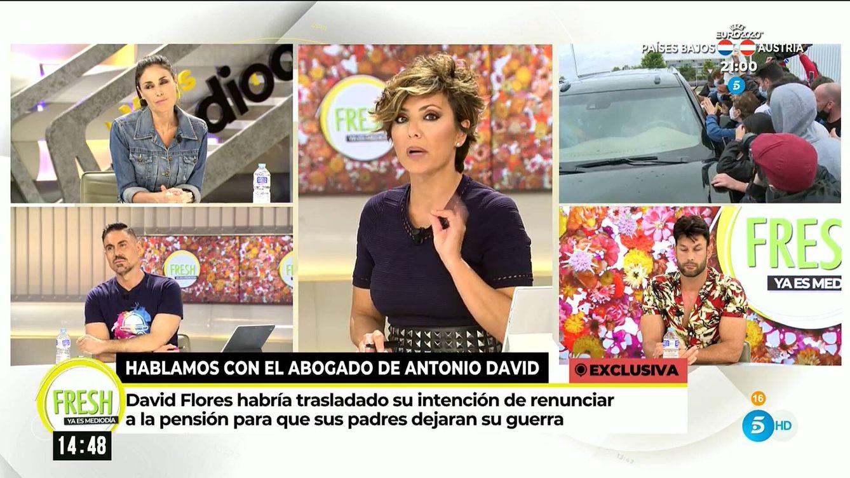 Sonsoles Ónega suelta otra bomba: la guerra entre Rocío y Antonio David podría cambiar