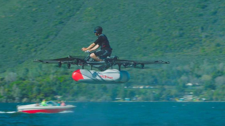 El 'coche' volador ya es real: esta es la nueva idea loca del creador de Google
