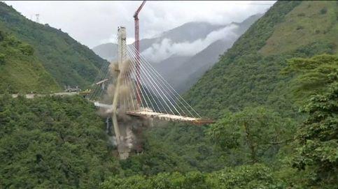Así usaron 200 kilos de explosivos para derribar un puente en Colombia