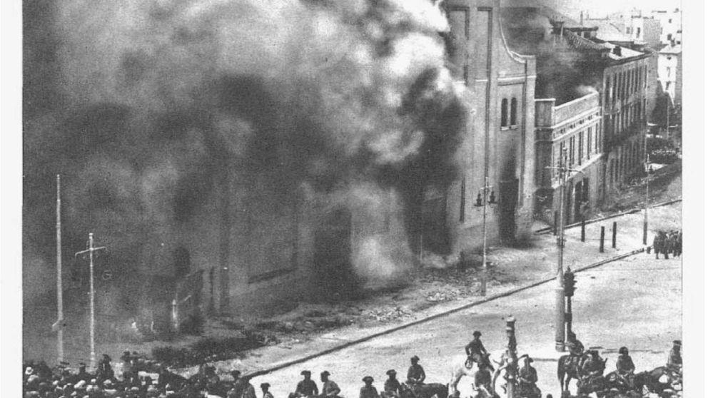 Arderéis como en el 36: la verdad sobre la quema de iglesias en la II República