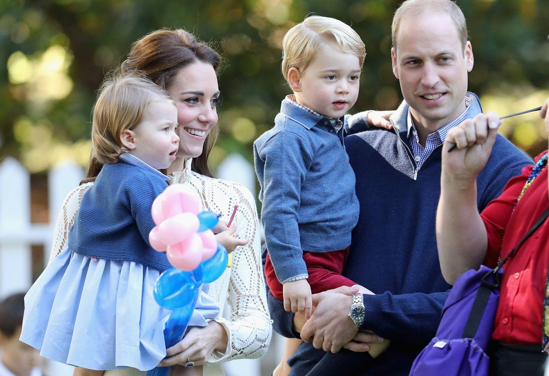 Foto: Los duques de Cambridge con sus hijos (Gtres)