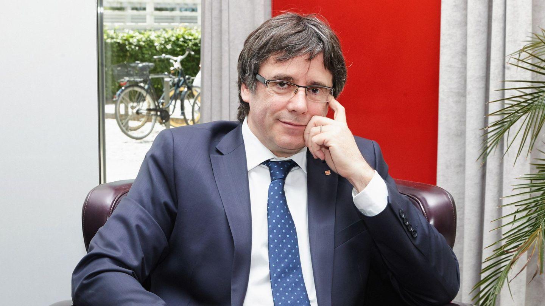 El expresidente catalán, Carles Puigdemont. (EFE)