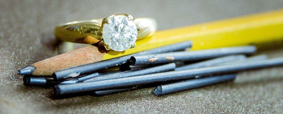 Foto: La ciencia de convertir el grafito en diamante