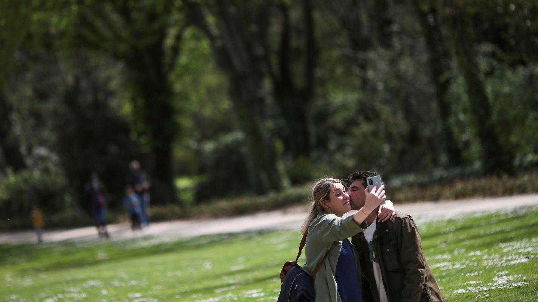 Reapertura de parques en Madrid en abril.  (EFE)