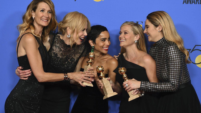 El reparto femenino de 'Big Little Lies' regresa para su segunda temporada. (HBO)