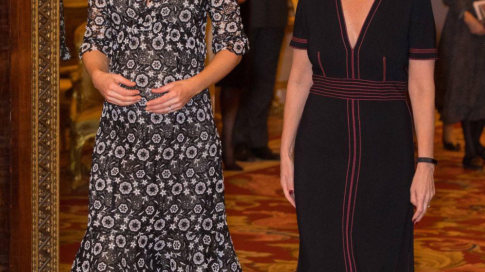 Foto: Kate Middleton y Sophie de Wessex, en una imagen de archivo. (Getty)