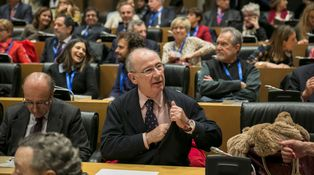 Rato, incómoda sorpresa en el Congreso en el homenaje a Loyola de Palacio