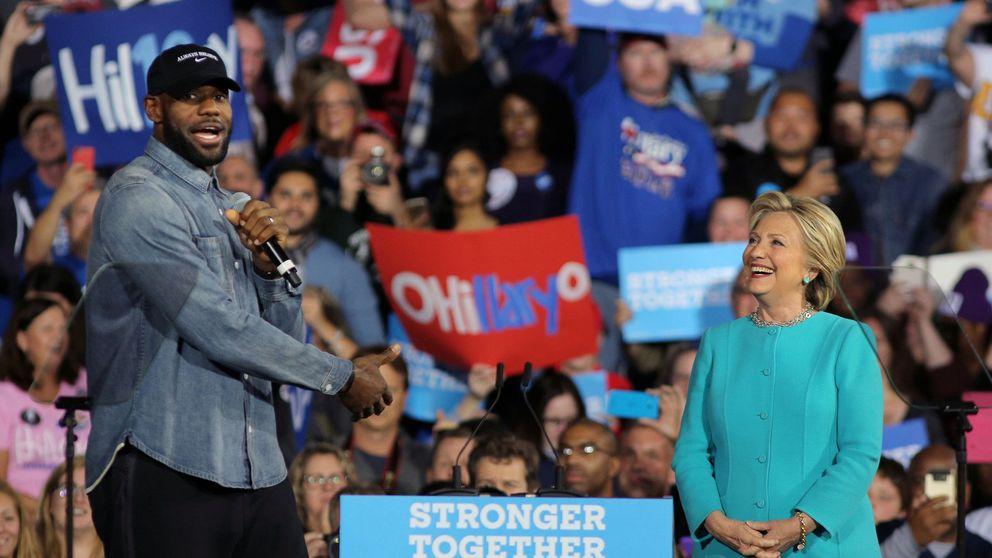 El apoyo de LeBron a Hillary Clinton y el compromiso político en la NBA