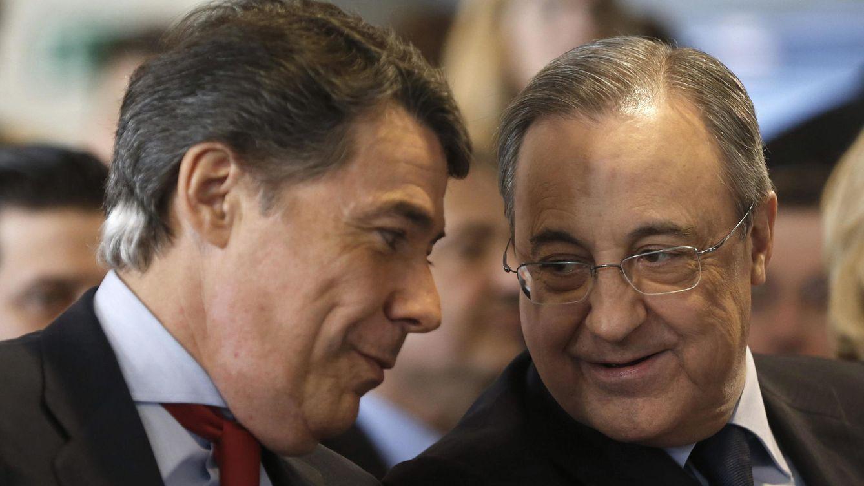 Foto: Florentino Pérez, con el presidente de la Comunidad de Madrid, Ignacio González (EFE)
