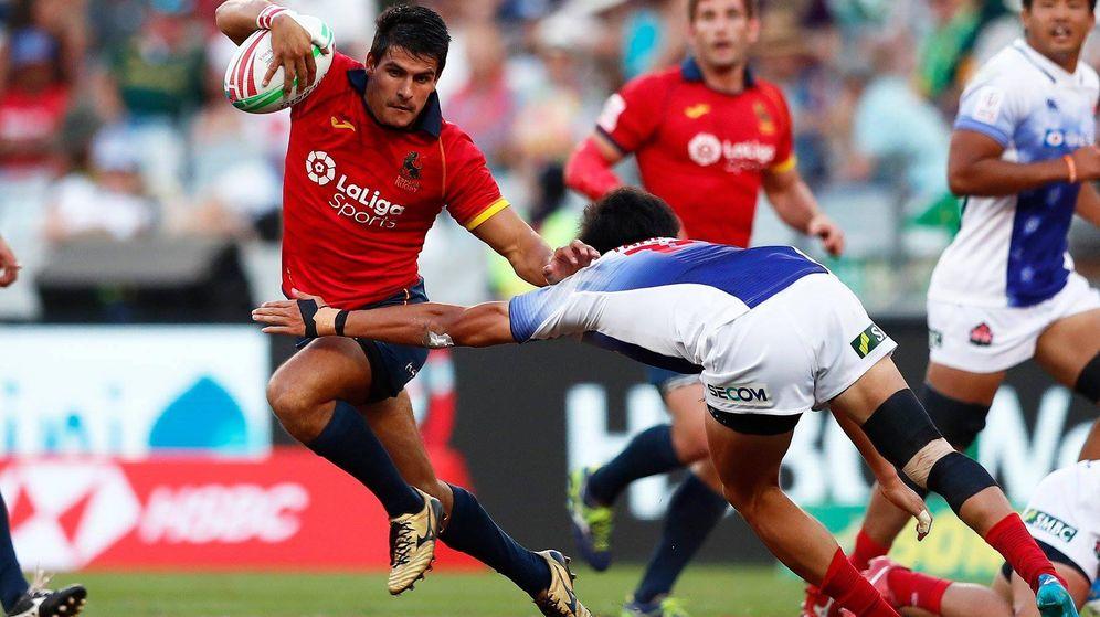 Foto: España ha logrado un sexto y un séptimo puesto esta temporada en las Series Mundiales. (Foto: Mike Lee/World Rugby)