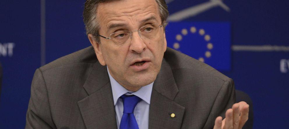 Foto: El primer ministro griego, Antoni Samaras