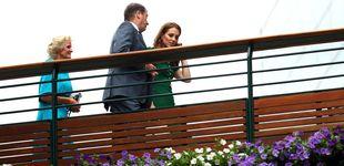 Post de Kate Middleton, de verde esperanza, se adelanta a su cita con Meghan