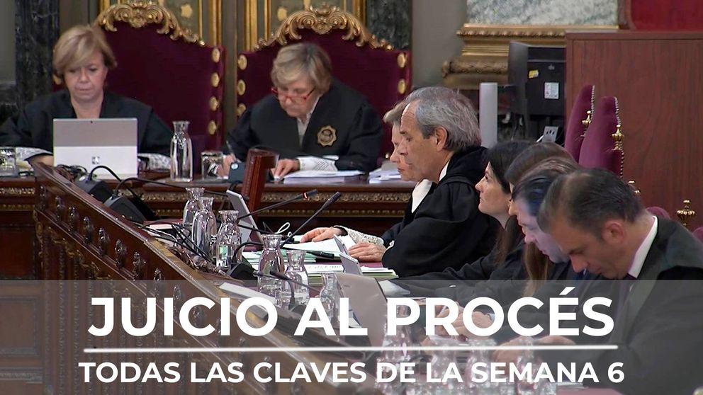 Resumen de la sexta semana del juicio del procés: escupitajos, insultos y miedo, el relato de la Guardia Civil