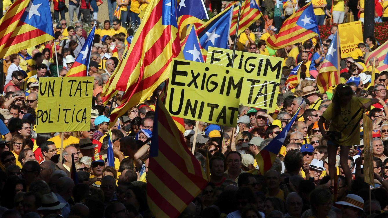 """Foto: Los independentistas catalanes inventan falsos tópicos para """"educar"""" a los turistas"""