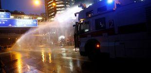 Post de Hong Kong vive una nueva tensa jornada de cañones de agua y gas lacrimógeno