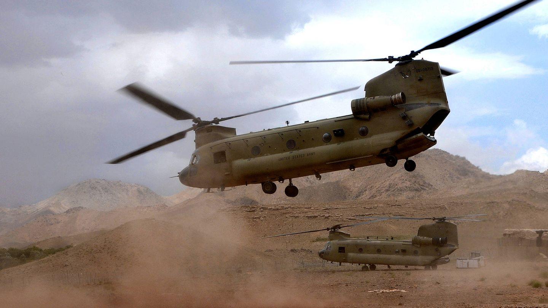 CH-47F Chinook en Afghanistan (US Army)