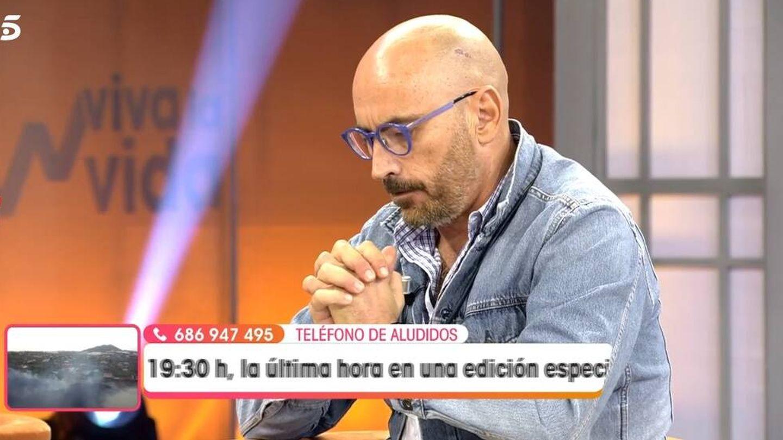 Arrabal, en 'Viva la vida'. (Telecinco).
