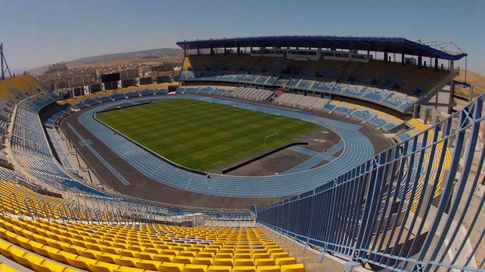 Foto: Imagen del Stade Ibn Battouta de Tánger distribuida por la Real Federación Española de Fútbol. (Foto: RFEF)
