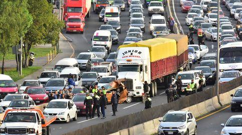 Gigantesco caos vial en Ciudad de México