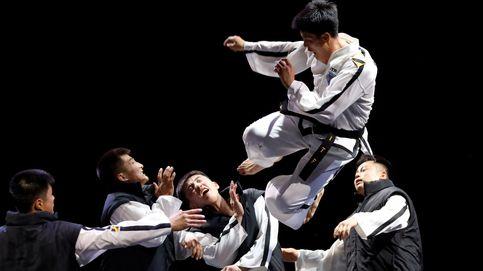 Performance de Taekwondo en Seúl