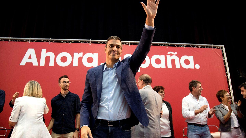 El presidente del Gobierno en funciones, Pedro Sánchez. (EFE)