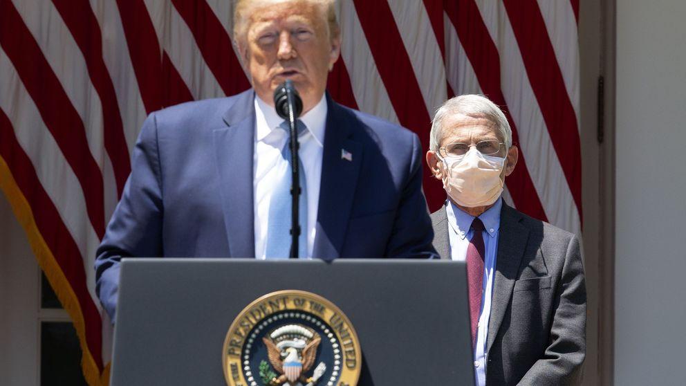 Tengo muy buena relación: Trump resta importancia a sus desencuentros con Fauci