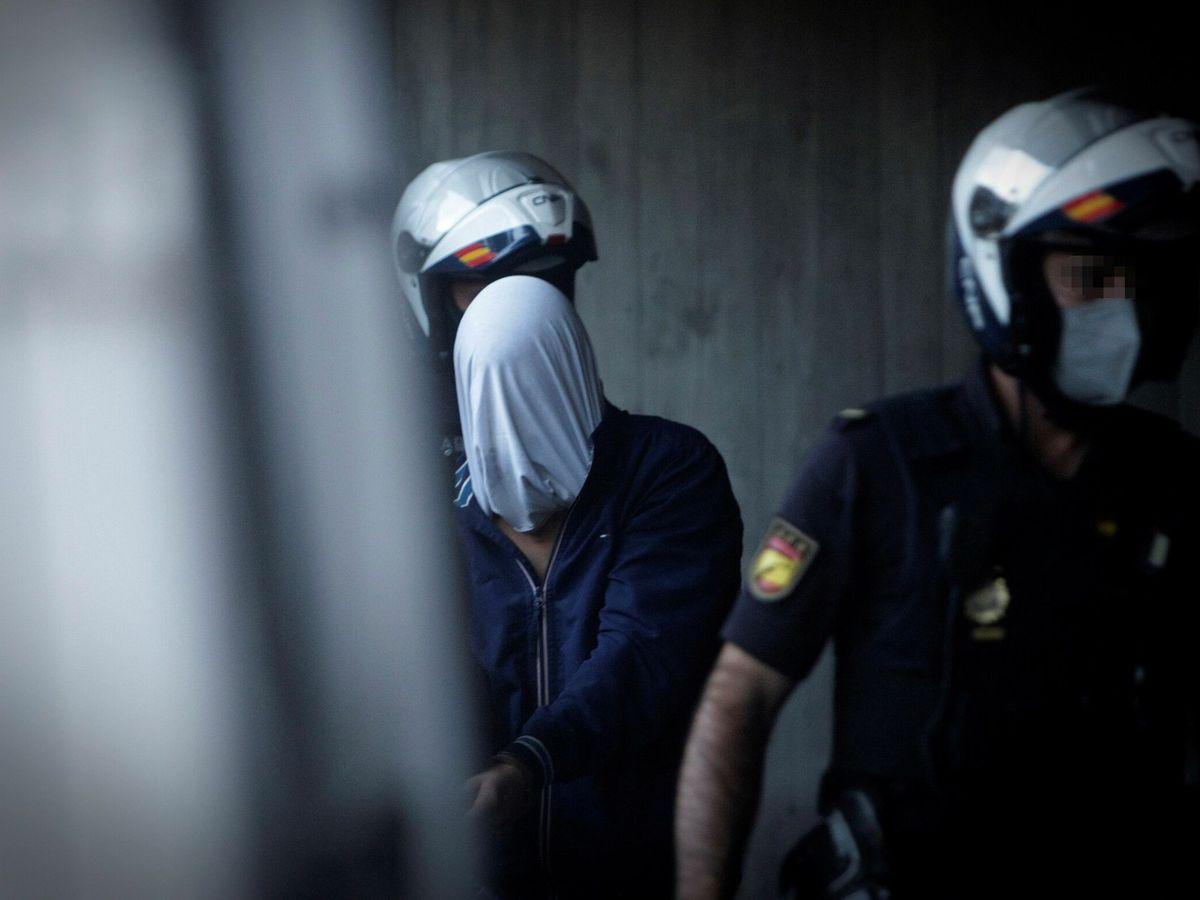 Foto: Uno de los detenidos por el crimen de Samuel. (EFE)