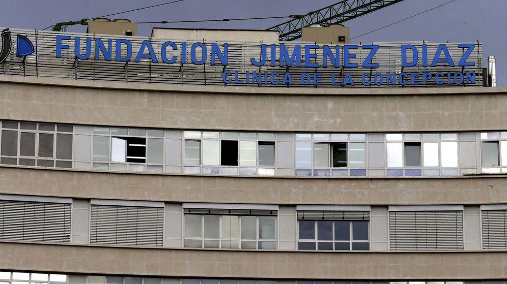 Foto: Foto de archivo de la fachada de la Fundación Jiménez Díaz. (EFE)