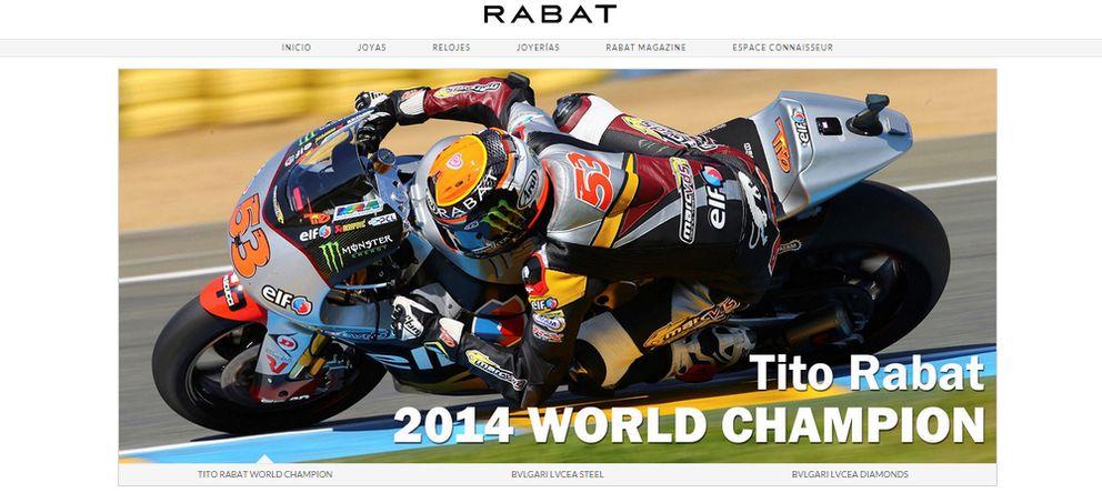 Foto: Página web de la joyería Rabat celebrando el triunfo de Tito
