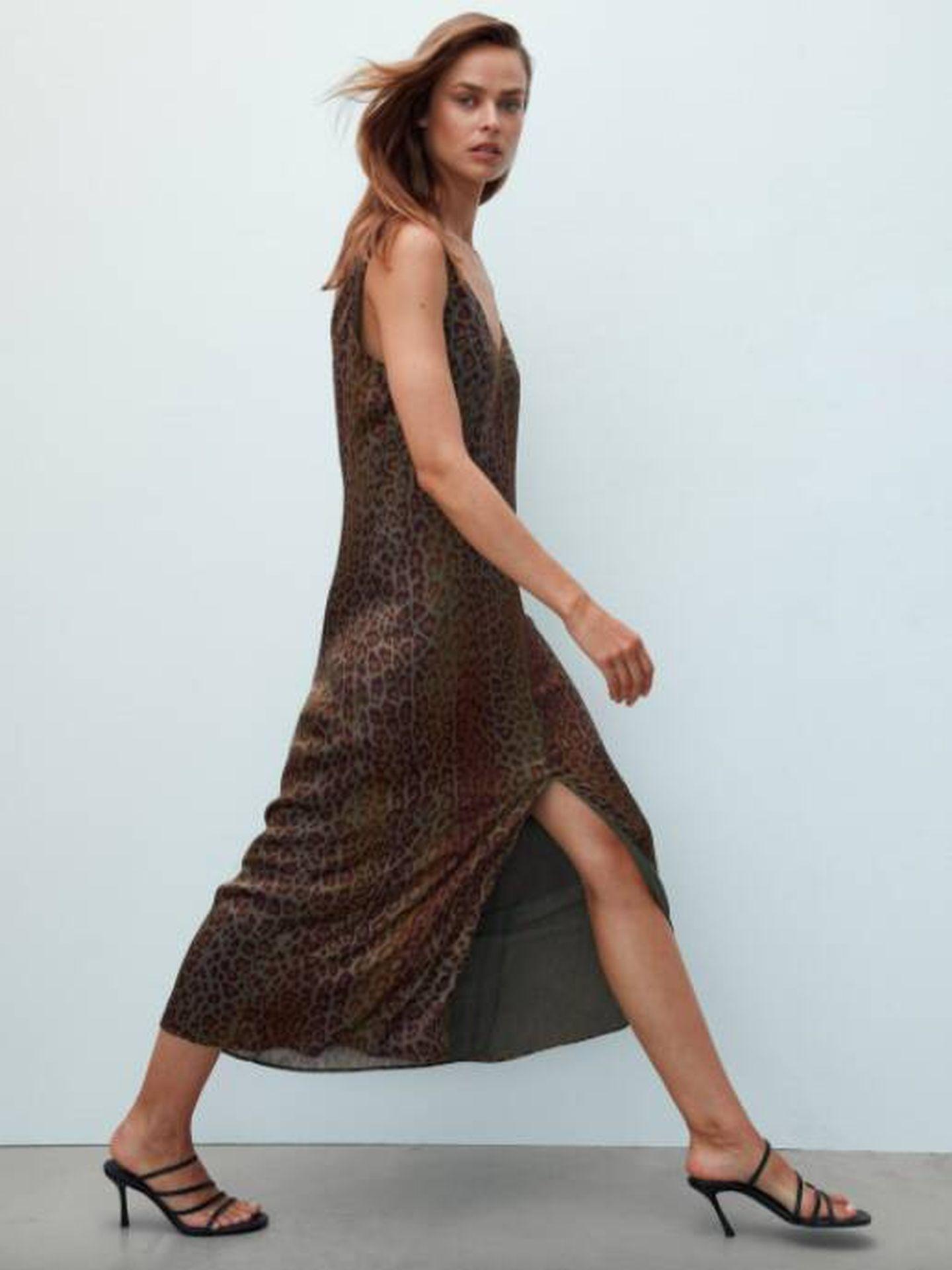 Un nuevo vestido low cost de Massimo Dutti. (Cortesía)