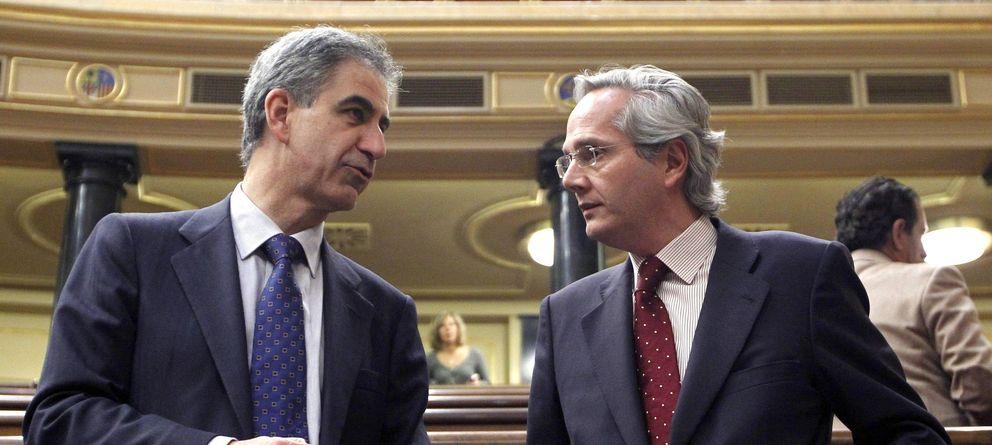 Foto: Pedro Gómez de la Serna (derecha), en una imagen de archivo. (Efe)