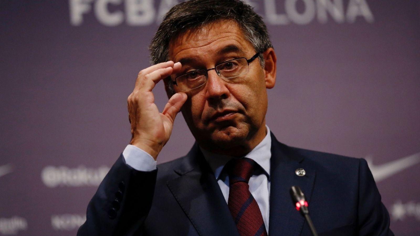 Foto: Josep Maria Bartomeu está inmerso en una profunda reorganización de la cúpula deportiva del Barcelona. (EFE)