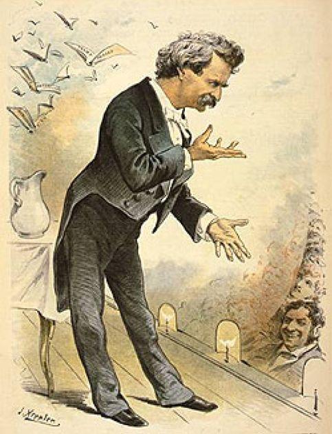 """Cien años sin Mark Twain, """"padre de la literatura norteamericana"""""""