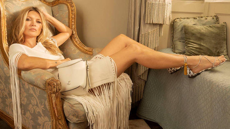 Kate Moss para Jimmy Choo.