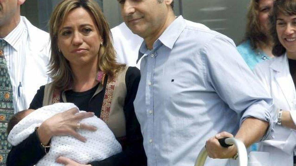 Miguel Barroso, padre y madre del único hijo de Carme Chacón