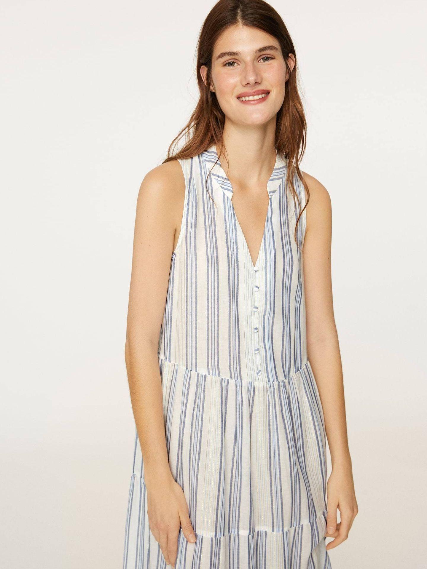 El nuevo vestido de Oysho para este verano. (Cortesía)