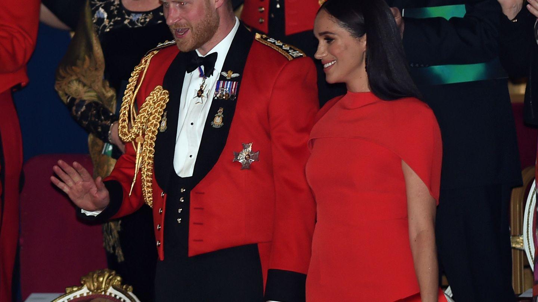 Los duques de Sussex, el pasado sábado en el Mountbatten Festival. (Reuters)