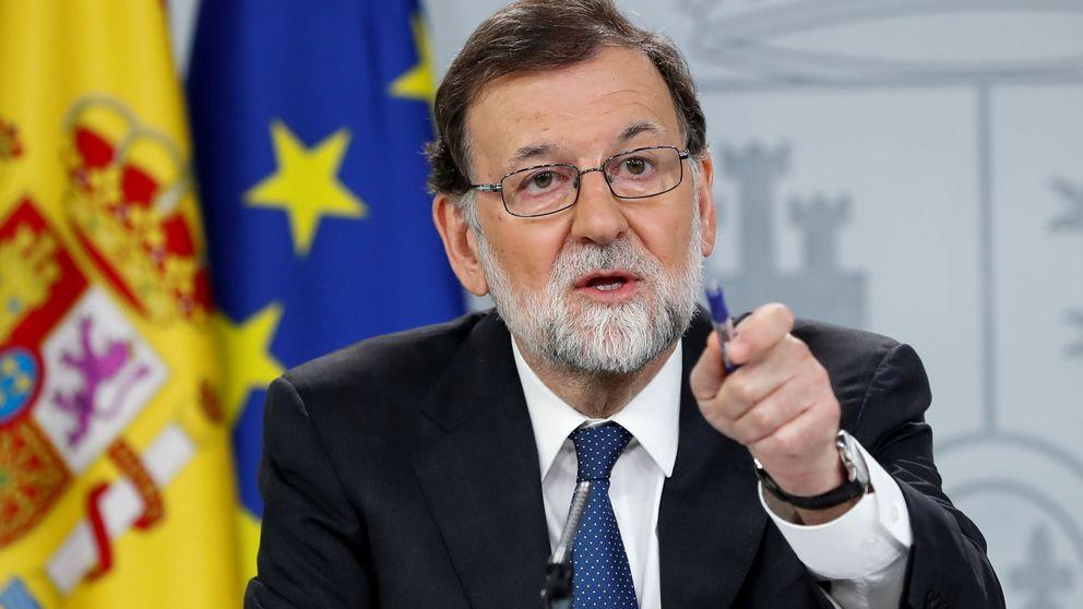 Rajoy acusa a Pedro Sánchez de debilitar a España para su promoción personal
