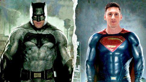 Cristiano y Messi se creen Batman y Superman