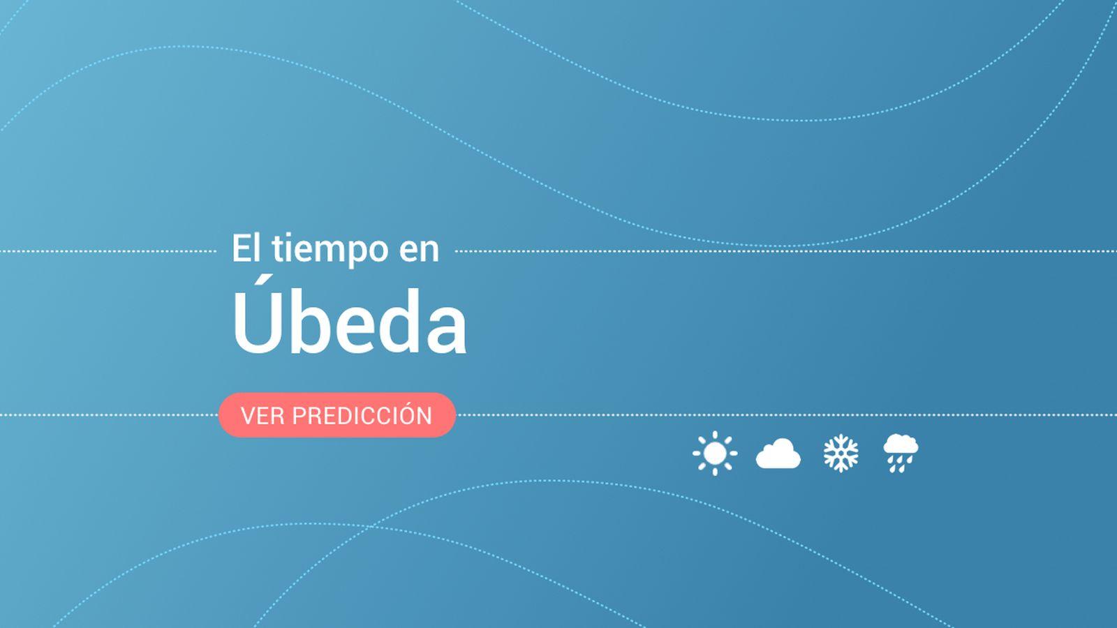 Foto: El tiempo en Úbeda. (EC)