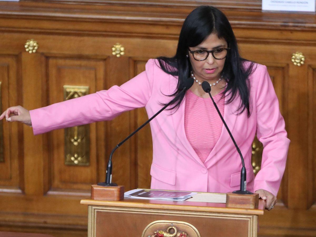 Foto: La vicepresidenta de Venezuela, Delcy Rodríguez. (EFE)
