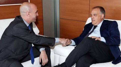 El alto el fuego de Rubiales y Tebas y el histórico pacto del fútbol español