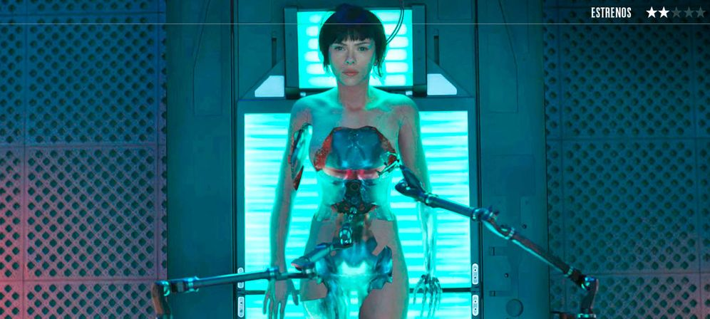Foto: Scarlett Johansson es Mayor en 'Ghost In The Shell'.