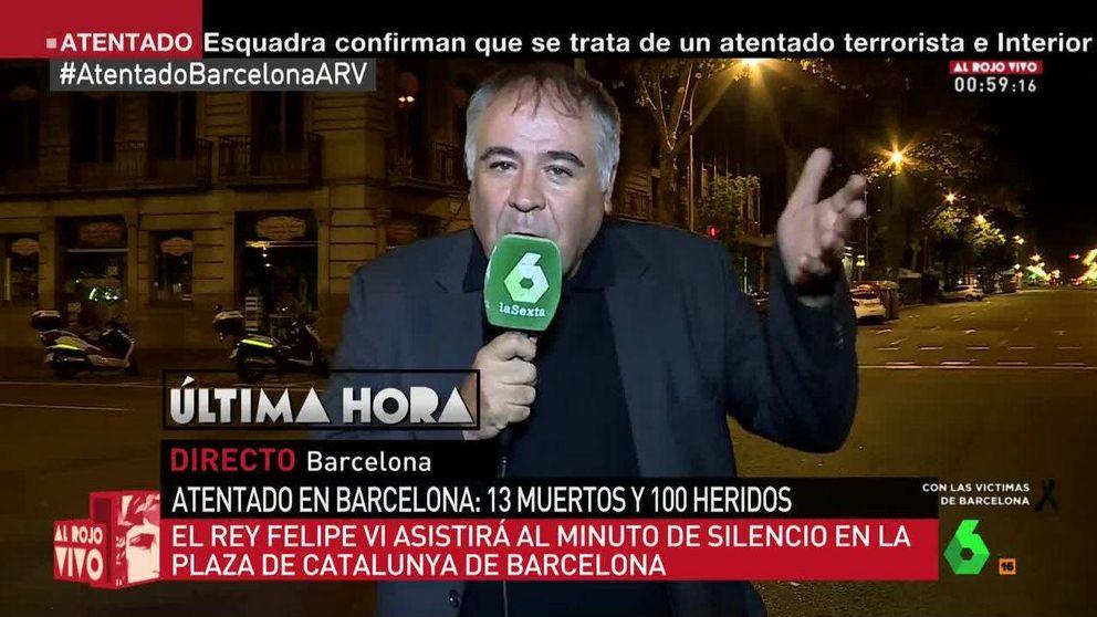 Así cubrieron las televisiones el atentado terrorista de Barcelona