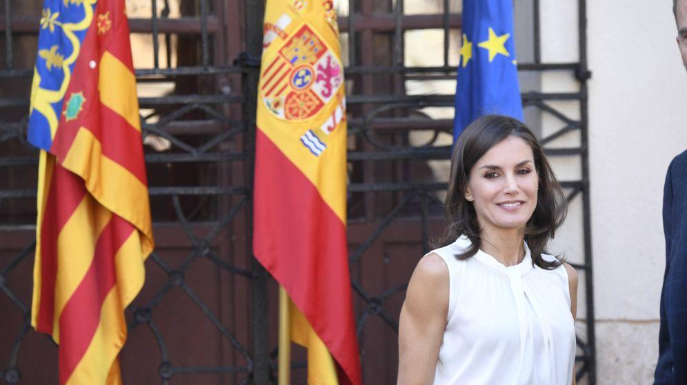 Foto: La reina Letizia, en Orihuela. (Limited Pictures)