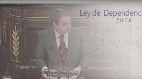 Zapatero, Rubalcaba y Aído en el vídeo de precampaña de Sánchez